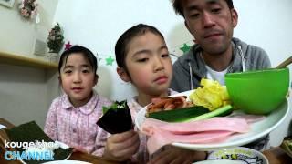 ひなまつりで手巻き寿司を楽しみました♪ thumbnail