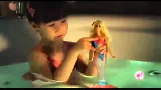 305 Мультик Барби Русалочка со светящимся хвостом