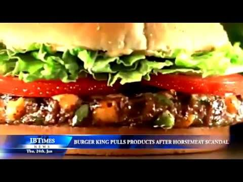 Burger King Uses Horse Meat-Fiction!