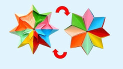 Antistress Transformer for 1 minute - Paper origami -  Easy paper crafts