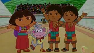 DORA BUJI-Ball Game Champions Dora the Explorer Video on Babi Cartoon
