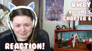 RWBY Volume 5, Chapter 6: Known By Its Song Reaction!