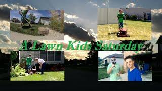 A Lawn Kids Saturday