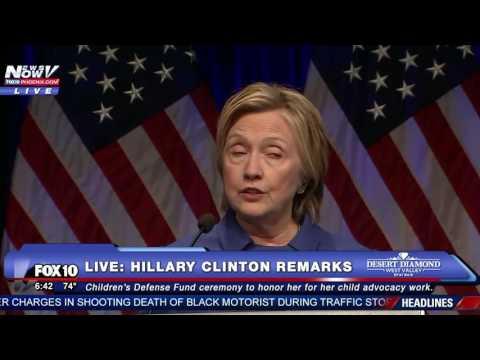 FULL: Hillary Clinton Speech - First Major Remarks Since Losing To Donald Trump - FNN