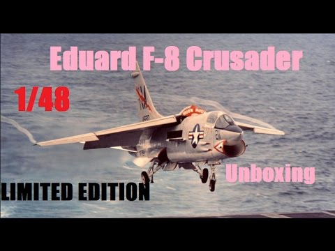 Eduard F-8 Crusader | Unboxing | 1/48 Limited Edition