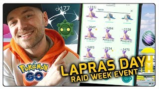 SHINY BRONZOR I SHINY LAPRAS DAY W POKEMON GO!