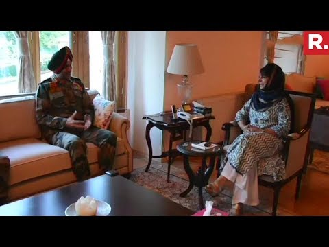 Northern Army Commander Meets CM Mehbooba Mufti Amidst Repeated Grenade Attacks Mp3
