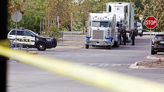Children among dead in US truck