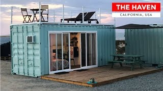 Joshua Tree 20ft Shipping Container Off Grid Tiny House