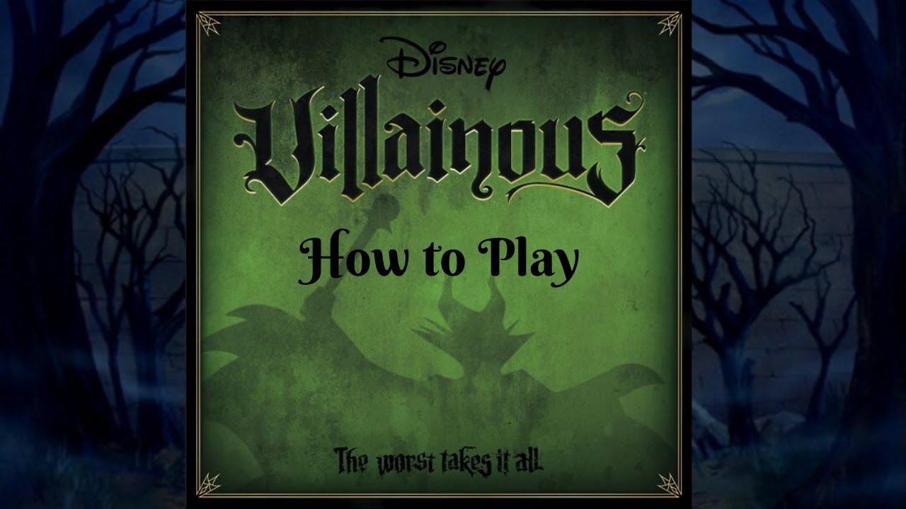Villainous Spiel