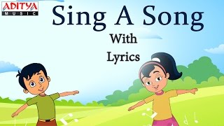Sing A Song Lyrics    Popular English Nursery Rhymes for Kids