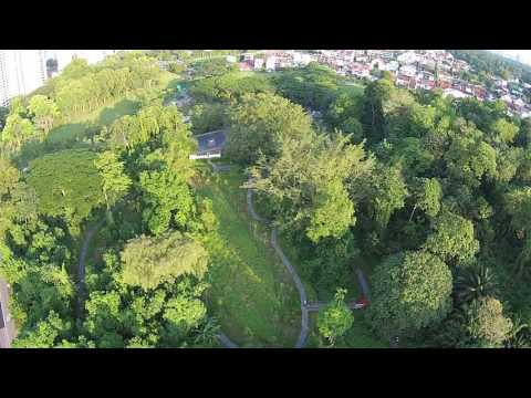 Drone footage of Windsor Nature Park