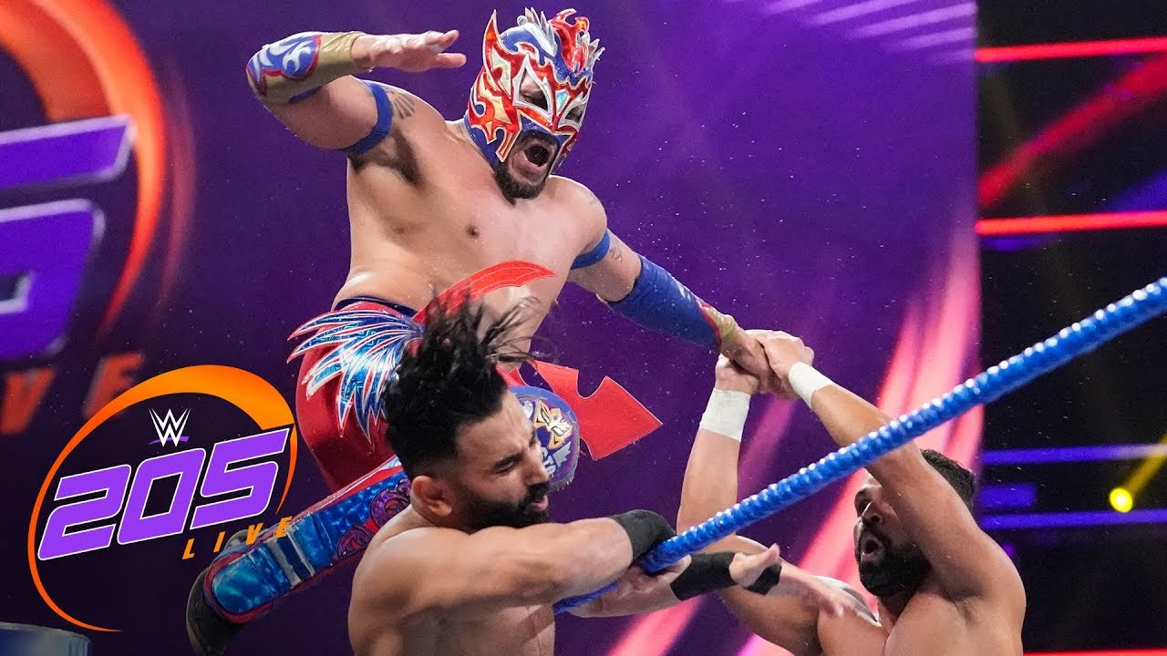 6-Man Tag Team Match: WWE 205 Live, Aug. 13, 2019