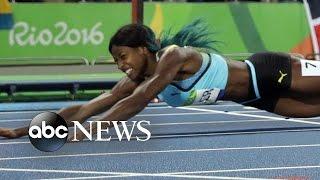 Allyson Felix Wins Seventh Olympic Medal