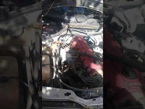 W124 замена тосола.