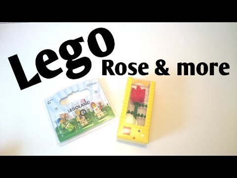 Lego Rose More Youtube