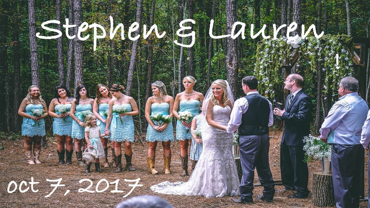 Stephen Lauren S Wedding Video Ft Luke Bryan