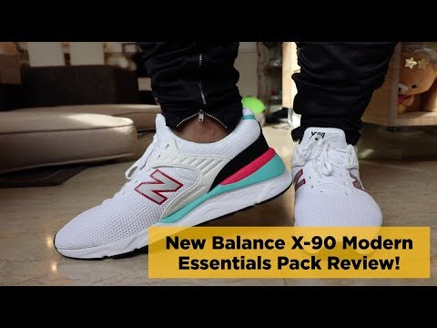 Best Chunky Lifestyle Sneakers? New Balance X-90 Modern Essentials Pack Review!