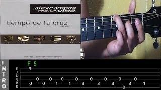""""""" ME ROBASTE EL CORAZON """" - Alex Campos - Tutorial de Guitarra"""