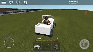 I could finally drive a car on roblox