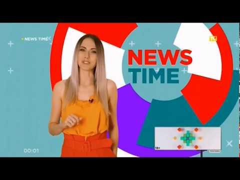 конец MUSIC ROLL, ПромоПерегон клипов, News time и заставка на BRIDGE TV Русский хит (5.09.2019)