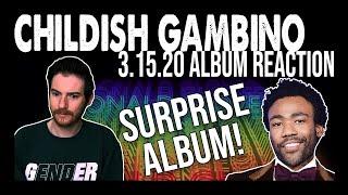 CHILDISH GAMBINO: 3.15.20 SURPRISE Album Reaction (are you KIDDING me?!) 😲