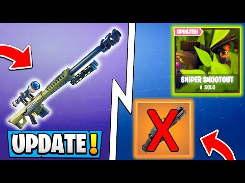 *NEW* Fortnite 5.21 Update! | ALL Changes, RIP Minigun, LTMs!