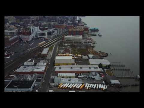 Drone flight over the Yonkers Waterfront - DJI Mavic Pro