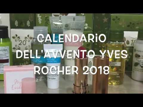 Calendario Avvento Yves Rocher.Calendario Avvento Yves Rocher 2018