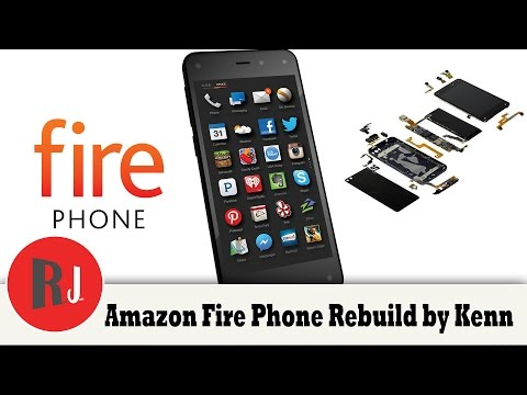 Amazon Fire Phone Rebuild one crazy looking device by Kenn