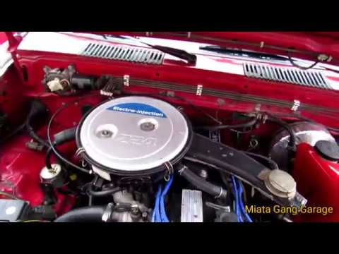 Nissan Hardbody Z24 Vacuum Lines N Egr Delete - YouTube