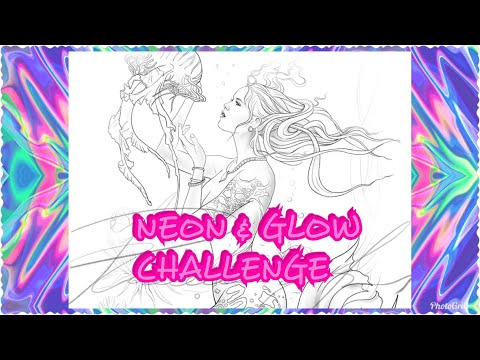 Neon And Glow Challenge Final Steam Featuring Raen Art Colour And Chat