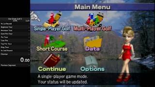 Hot Shots Golf 3 100% Speedrun in 11:17:30