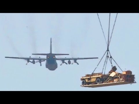 Airborne Field Artillery - M119 Howitzer Heavy Drop/Live Fire