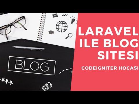 Laravel ile Blog