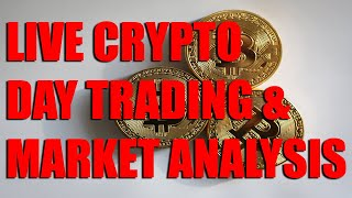 Live Crypto Trading - Feb 18, 2019 - 2:30 AM EST - Bitcoin goes crazy!