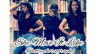 She Move It Like | Badshah | Dance Cover | Choreography by Shetty