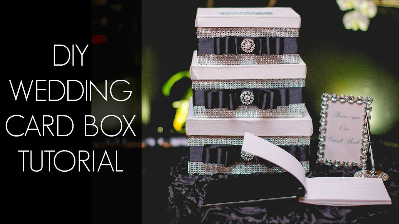 Diy wedding card box youtube diy wedding card box solutioingenieria Image collections