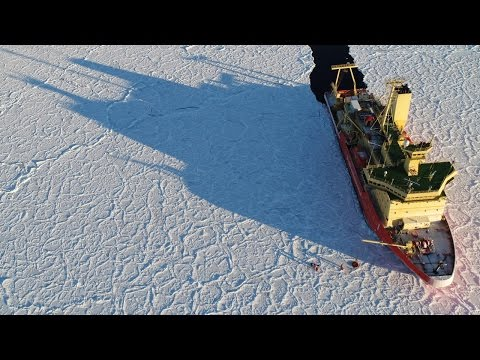 Antarctic voyage: dragon-skin ice and katabatic storms
