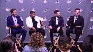 The Voice: Season 6 Finale: Winner Press Conference with Usher & Josh Kaufman