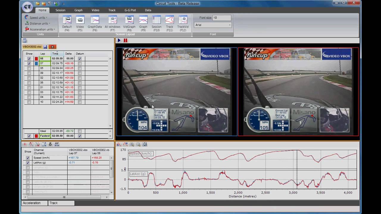 Dramatically improve lap times using the new Video ...