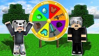 ŞANS ÇARKI OYNADIK! (HANGİMİZ DAHA ŞANSLI?) 😱 - Minecraft