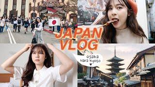 🇯🇵MY JAPAN SOLO TRIP - Osaka, Nara, Kyoto, Universal Studios!! | Babyjingko