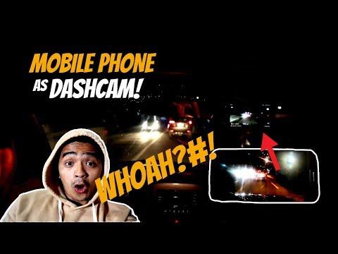 Using Mobile PHONE As DASHCAM!