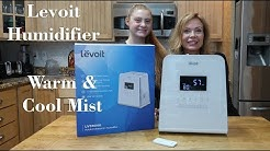 LEVOIT Warm and Cool Mist Humidifier LV550HH (Humidity Monitor)Review