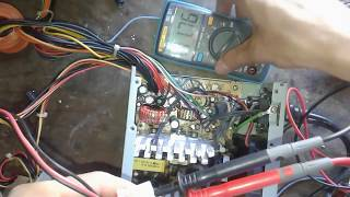 How to Fix a Switching Power Supply /  Troubleshooting Repair Computer Power Supply  , PSU ,