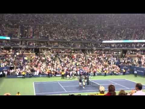 US Open 2013- N. Djokovic vs J. Sousa