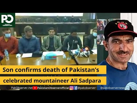 Pakistani Mountaineer Ali Sadpara Declared Dead By Family | Pakistan Observer