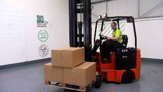 535 Bendi B40 Electric 1825KG Used Articulated Forklift Truck