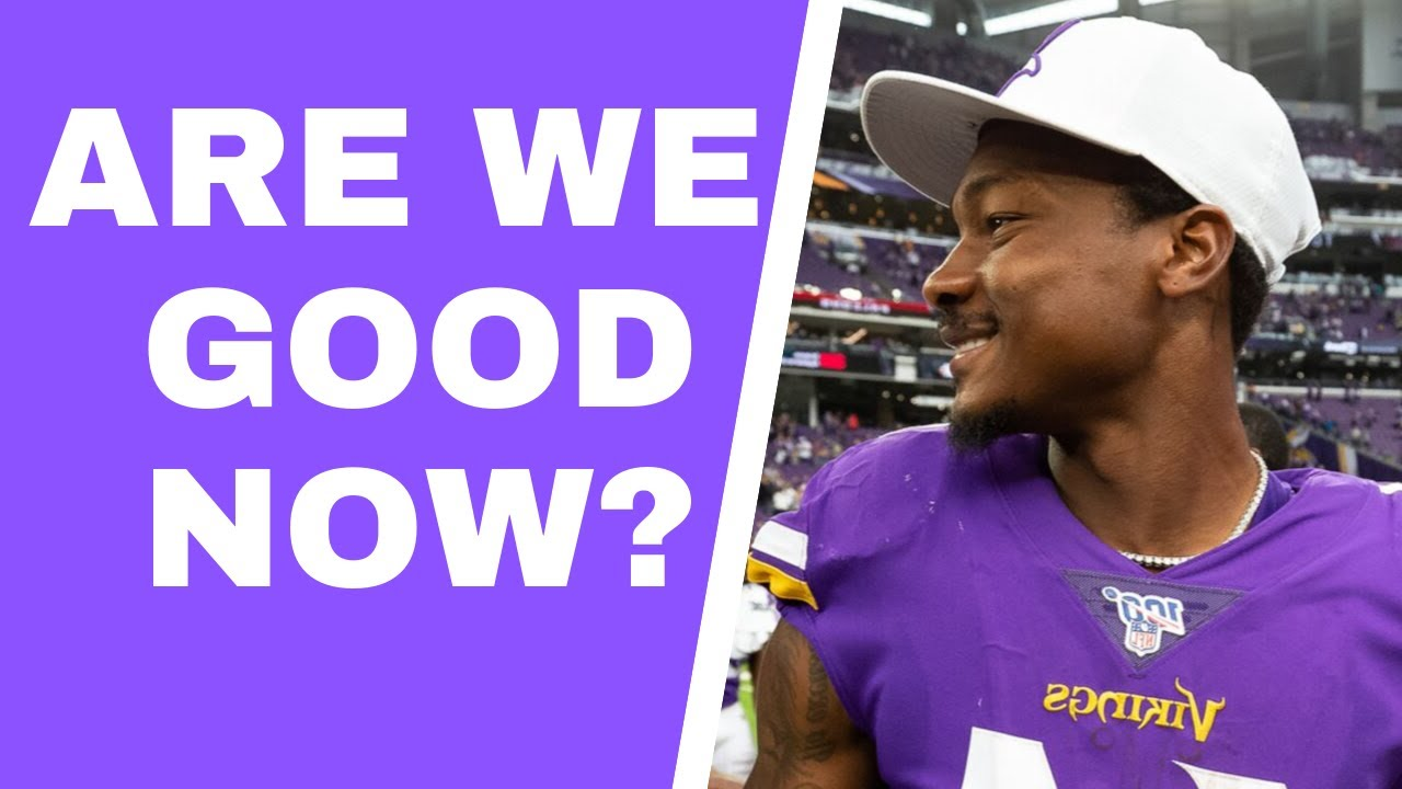 Vikings aren't worried about Stefon Diggs following his recent social ...